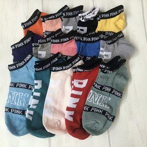 🍀SALE!! 15 Pairs PINK Victoria Secret Socks ☘